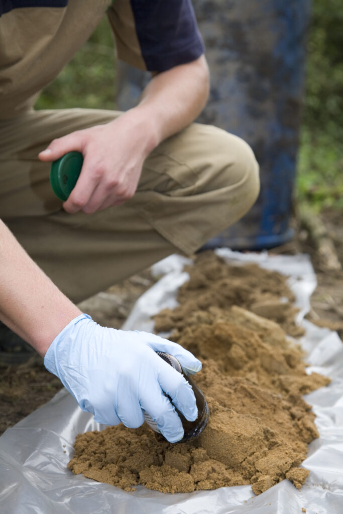 soil testing carbon